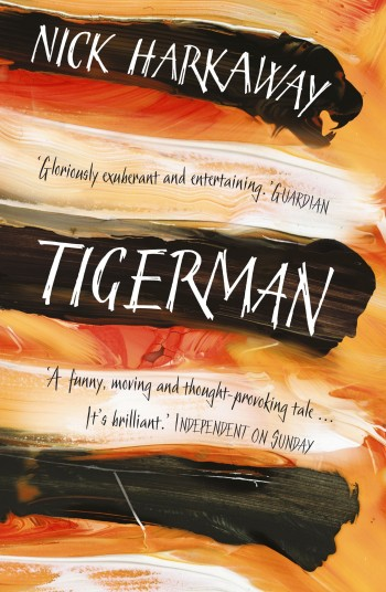 glossy shiny lovely tigerman paperback